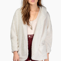 Shearling Luck Hooded Jacket