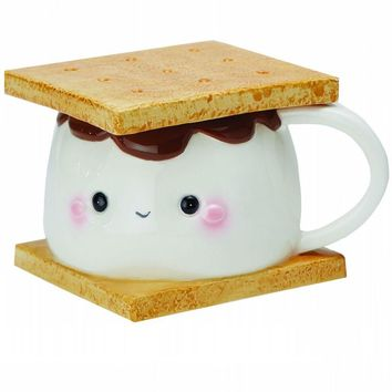 S'mores Ceramic Coffee Mug