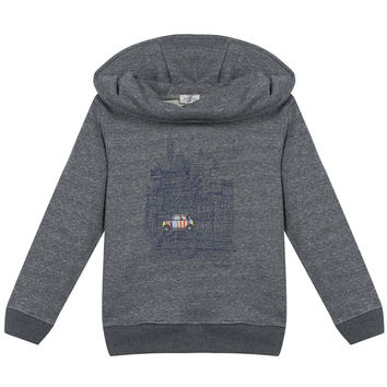 Paul Smith Boys Grey Hoodie