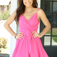 Heart to Heart Dress - Pink