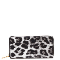 Esmeralda Print Wallet in White