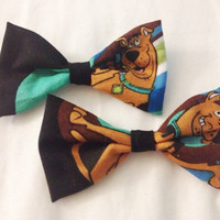 Scooby Doo Hair Bows (set of two)