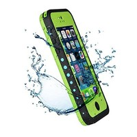WONFAST(TM) iPhone 5c Case,Waterproof Shockproof Dirtproof Snowproof Protective Carrying Case Cover Only for Apple Iphone 5C (green)
