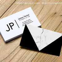 Marble business cards, business card template, custom logo, custom business cards, minimal small business branding, premade design card