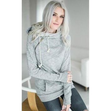 Hoodies Hats Long Sleeve Women's Fashion T-shirts [31299993626]
