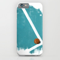 Tennis iPhone & iPod Case by Matt Irving