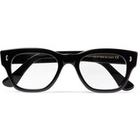 Cutler and Gross Two-Tone Square-Frame Optical Glasses | MR PORTER