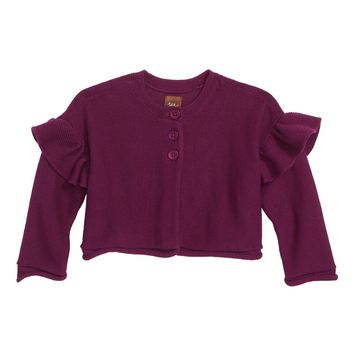 Tea Collection Ruffle Cardigan (Baby Girls) | Nordstrom