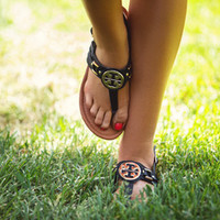 Medallion Sandals Black
