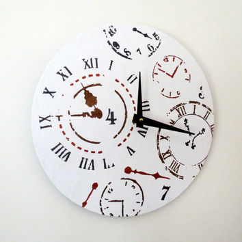 SALE Alice In Wonderland Clock,  Home and Living, Unique Decor, Decor and Housewares, Unique Gift Idea