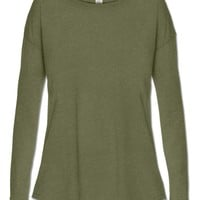 NEW! Basic Long Sleeve Slouch Top