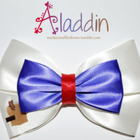 Aladdin Hair Bow
