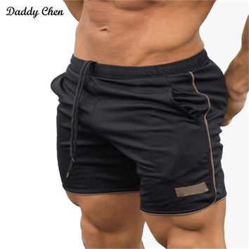 Summer mens shorts Bodybuilding fitness compression cargo short pants gyms beach board workout Crossfit Brand Joggers Sweatpants