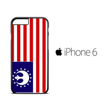 Star Wars Rebel Alliance Flag X0776 iPhone 6 Case