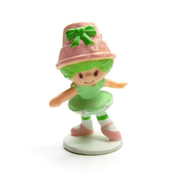 Lime Chiffon the Ballerina Vintage Strawberry Shortcake PVC Miniature Ballet Dancer Figurine