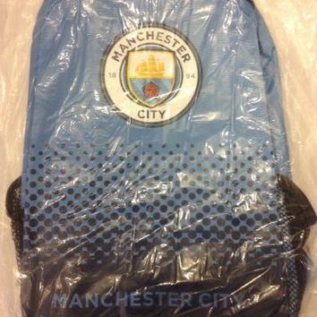 Manchester City FC Official Fade Backpack NEW