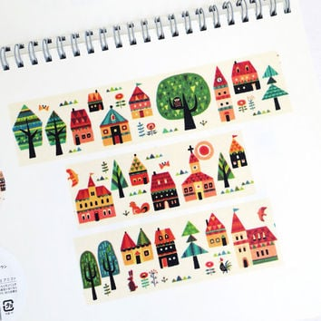 Forest Town by aimez le style washi masking tape mt