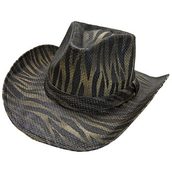 Peter Grimm - Contraband Straw Cowboy Hat