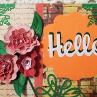 Copy of Hello Thnking of You Wall Decor, Wood Plaque 8