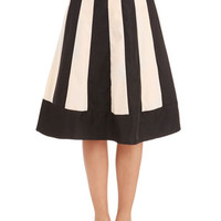 ModCloth Vintage Inspired Long A-line Recital Radiance Skirt
