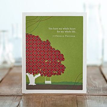 You Have My Whole Heart, A Positively Green Love and Anniversary Card