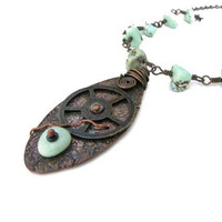 Steampunk  Turquoise