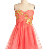 Sweet Organza A-line Sweetheart Applique Mini Prom Dress from SinoSpecial