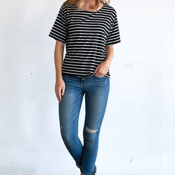 Coco Striped Tee