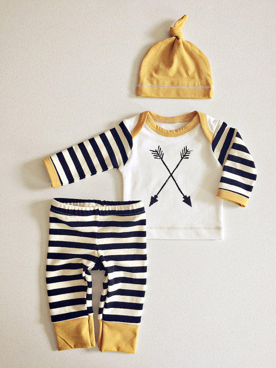 Newborn Baby Boy Coming Home Outfit Boys