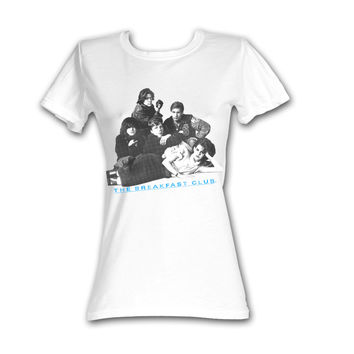 Breakfast Club Group Shot White T-Shirt