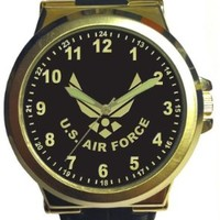 Aqua Force Air Force Jumbo Retro Watch with 50mm Face