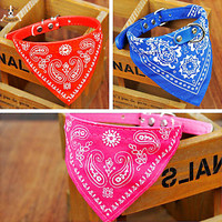 Bandana Pet Dog Cat Collar