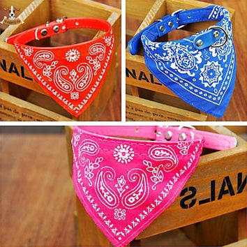 Adjustable Pet Bandana Scarf