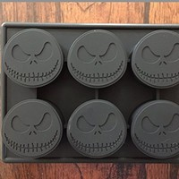 Jack Skellington Nightmare Before Christmas Silicone Pan Candy Chocolate Mold Ice Tray