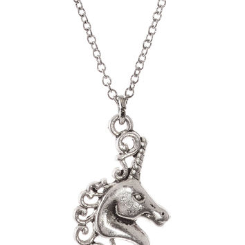 Magical Unicorn Charm Necklace