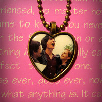 Logan Lerman Ezra Miller Emma Watson (The Perks of Being a Wallflower) pendant charm necklace
