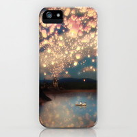Love Wish Lanterns iPhone Case by Belle13 | Society6