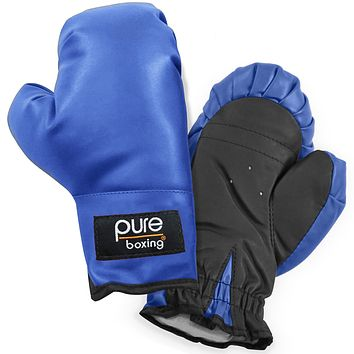 Pure Boxing Youth Kids Boxing Gloves - Blue