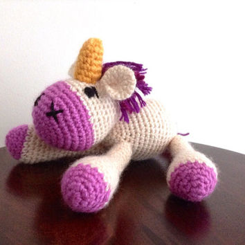 Crochet Unicorn, Amigurumi Unicorn, Unicorn toy, Crochet toys, Stuffed animal, Plush unicorn, Crochet doll, Amigurumi crochet animals, OOAK