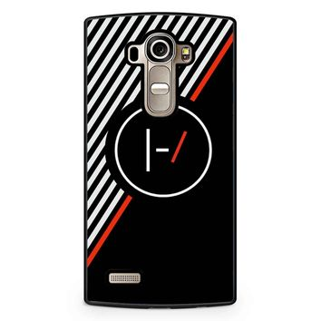 Twenty One Pilots Stripe Poster LG G4 Case