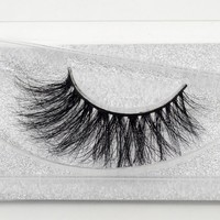 3D Mink Lashes Thick False Real Mink Eyelashes Fake Eye Lashes Beauty  100% Handmade For Makeup A21