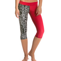 Mahiku Ikaika Warrior Capri at SwimOutlet.com - Free Shipping