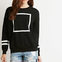 Square Graphic Sweatshirt
