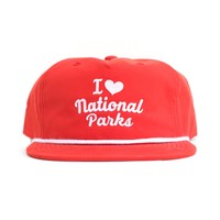 I Heart Parks Throwback Hat