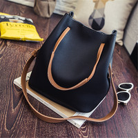 YBYT brand 2016 new bucket casual totes beading handbag hotsale women briefcase satchel ladies shoulder messenger crossbody bags