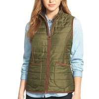 Women's Barbour 'Fell' Quilted Vest,