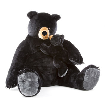 Melissa & Doug - Black Bear and Cub - Plush