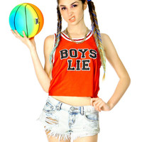 BOYS LIE CROP TOP
