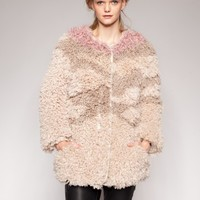 Bowery faux fur coat