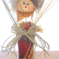 Fall Scarecrow Centerpiece